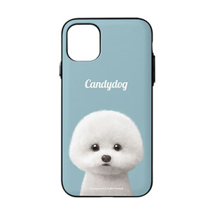 Dongle the Bichon Simple Door Bumper Case