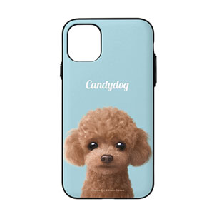 Ruffy the Poodle Simple Door Bumper Case