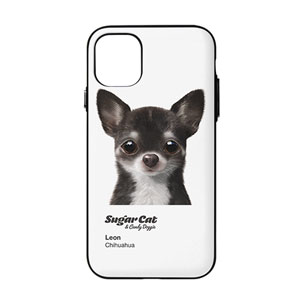 Leon the Chihuahua Colorchip Door Bumper Case