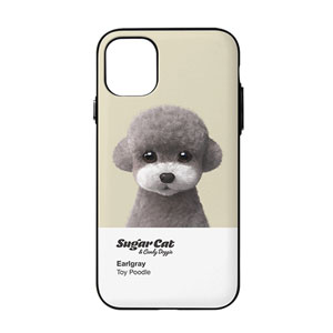 Earlgray the Poodle Colorchip Door Bumper Case