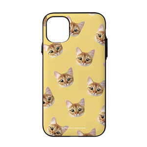 Hanu Face Patterns Door Bumper Case