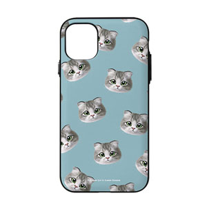Jennie Face Patterns Door Bumper Case