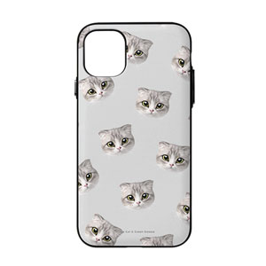 Momo Mumohan Face Patterns Door Bumper Case