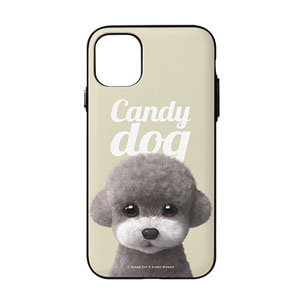 Earlgray the Poodle Magazine Door Bumper Case