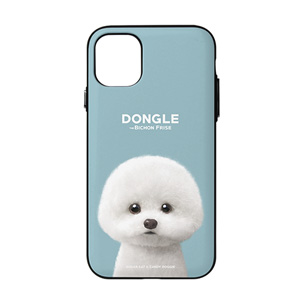 Dongle the Bichon Door Bumper Case