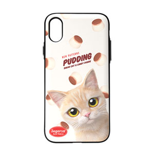 Bangul's Pudding New Patterns Door Bumper Case