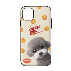 Earlgray the Poodle's Cheese Ball New Patterns Door Bumper Case