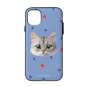 Jupiter's Blueberry & Raspberry Face Door Bumper Case