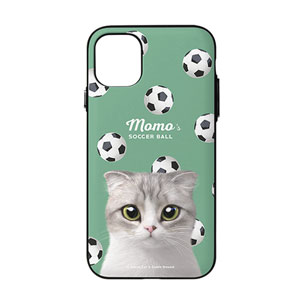 Momo Mumohan's Soccer Ball Door Bumper Case