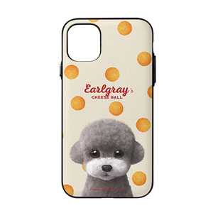 Earlgray the Poodle's Cheese Ball Door Bumper Case