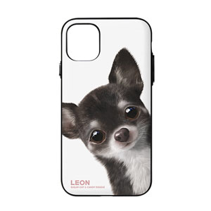 Leon the Chihuahua Peekaboo Door Bumper Case