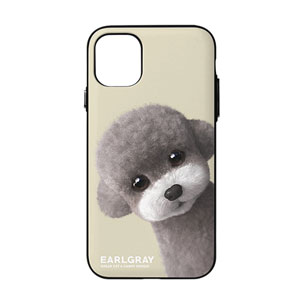 Earlgray the Poodle Peekaboo Door Bumper Case