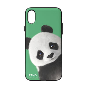 Pang the Giant Panda Peekaboo Door Bumper Case