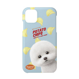 Dongle the Bichon's Potato Chips New Patterns Case