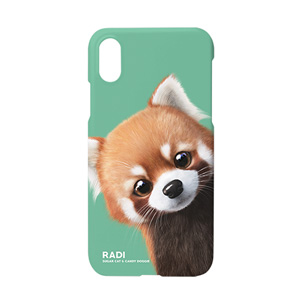Radi the Lesser Panda Peekaboo Case