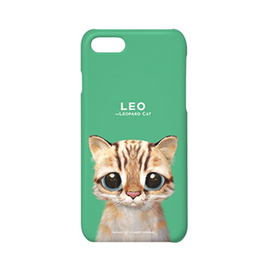 Leo the Leopard cat Case