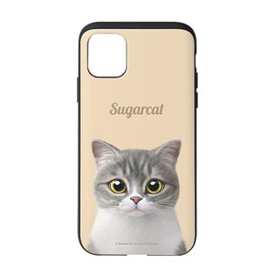 Moon the British Cat Simple Slide Case