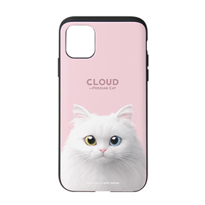 Cloud the Persian Cat Slide Case