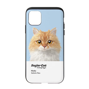 Hodu the Selkirk Rex Colorchip Slide Case