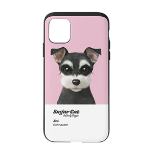 Jini the Schnauzer Colorchip Slide Case