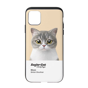 Moon the British Cat Colorchip Slide Case