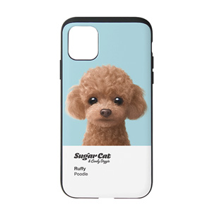 Ruffy the Poodle Colorchip Slide Case