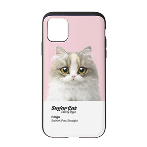 Salgu the Selkirk Rex Colorchip Slide Case