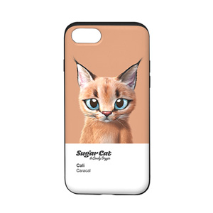 Cali the Caracal Colorchip Slide Case