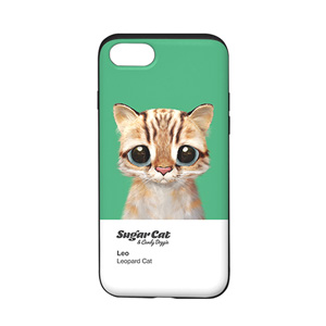Leo the Leopard cat Colorchip Slide Case
