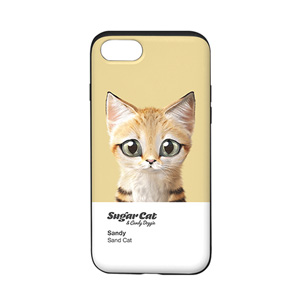 Sandy the Sand cat Colorchip Slide Case