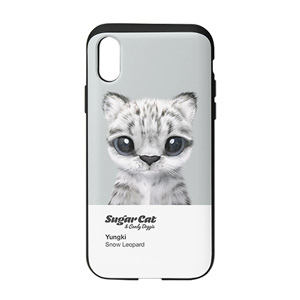 Yungki the Snow Leopard Colorchip Slide Case