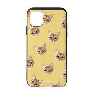 Hanu Face Patterns Slide Case