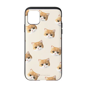 Laurent Face Patterns Slide Case
