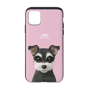 Jini the Schnauzer Slide Case
