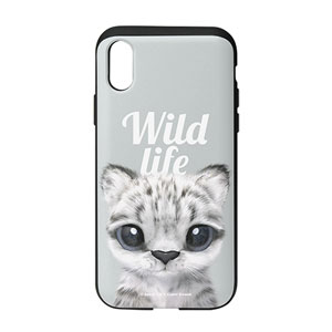 Yungki the Snow Leopard Magazine Slide Case