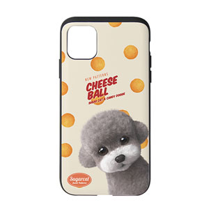 Earlgray the Poodle's Cheese Ball New Patterns Slide Case