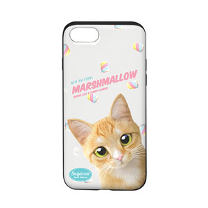 Roy the Cheese Tabby's Marshmallow New Patterns Slide Case