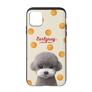 Earlgray the Poodle's Cheese Ball Slide Case
