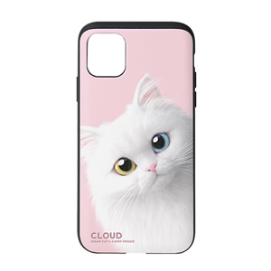 Cloud the Persian Cat Peekaboo Slide Case
