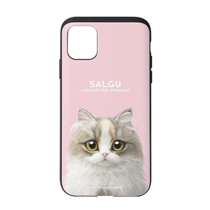 Salgu the Selkirk Rex Slide Case