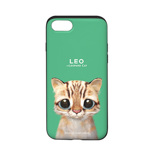 Leo the Leopard cat Slide Case