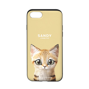 Sandy the Sand cat Slide Case