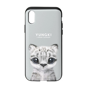 Yungki the Snow Leopard Slide Case