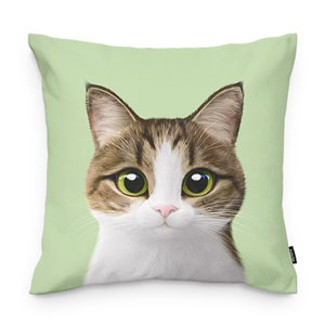 Gosomi Throw Pillow