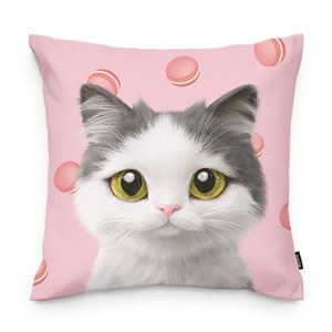 Dal's Macaroon Throw Pillow