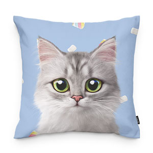 Jupiter's Marshmallow Throw Pillow