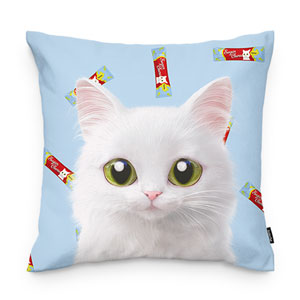 Ria's Churu Throw Pillow