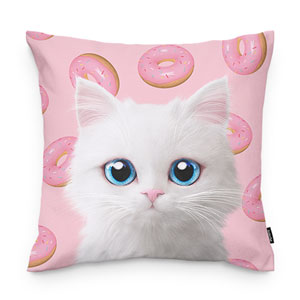 Venus's Donuts Throw Pillow