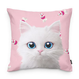 Venus's Mouse Toy Throw Pillow