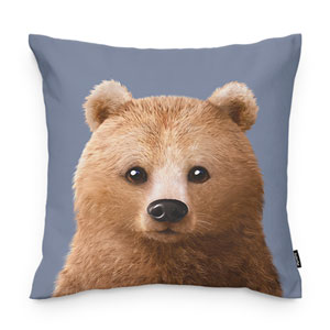 Brownie the Bear Throw Pillow